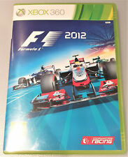 F1 2012 Xbox 360 Game X360 Formula 1 Racing 12 Race Cars Official FIA