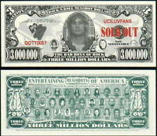 BLACK SABBATH / OZZY OSBOURNE / 3 MILLION DOLLAR NOVELTY BILL