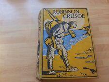 Robinson Crusoe, Daniel Defoe, (circa 1930)