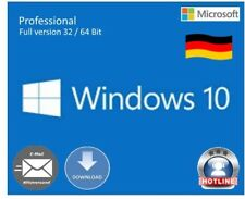 MS Windows 10 Prof. ESD Product-key código 32/64 bits sp1 Multilingual Full Versión