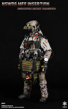 "Easy & Simple US Navy 1/6 Scale 12"" NSWDG MFF Insertion Halo Parachuting Figure"