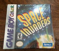 Space Invaders (Nintendo Game Boy Color) GBC Brand New Sealed Gameboy NIB CIB