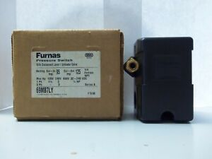 New Furnas 69MB7LY Pressure Switch W/ Disconnect Lever Series A NIB
