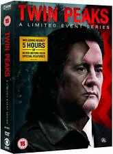 TWIN PEAKS (2017) A Limited Event 'The Return' TV Season Series - Rg2 DVD not US