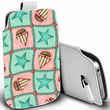 Synthetic Leather Pouches/Sleeves for Samsung Mobile Phone