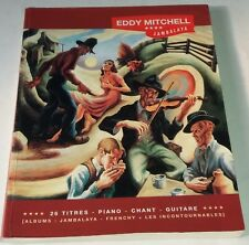 Eddy MITCHELL Jambalaya SONGBOOK 26 Titres BOOKMAKER Paul BEUSCHER 2007