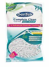 Dentek Floss Picks Complete Easy Reach 75 Count