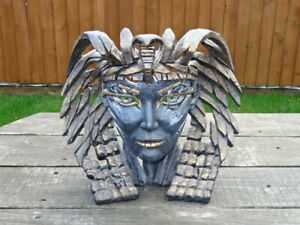 Large Matt Buckley Edge Sculpture - CLEOPATRA