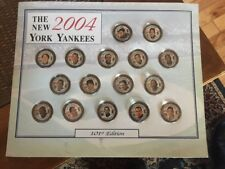 New York Yankees 2004 Painted State Quarters Complete Coin Set 101st Ed Jeter