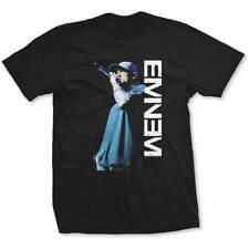 Eminem - On The Mic - Official Men's Black T-Shirt