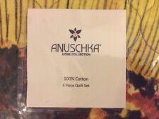 Anuschka Tuscan Paradise King 4 Piece Quilt Set New