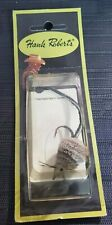 Vintage Hank Roberts Nos Deer Mouse Fly Fishing Lure Leather Tail