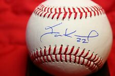 IAN KENNEDY AUTOGRAPHED SIGNED BASEBALL KANSAS CITY ROYALS COA