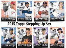 2015 Topps Baseball Stepping Up Insert Complete Set 1-20 (Koufax, Ortiz, Votto)