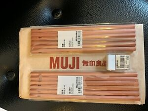 MUJI Japan Pencil 2B 2 set with Mini Pencil Sharpener