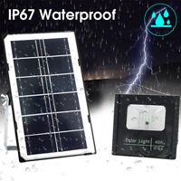 45W Solarleuchte Solarlampe mit Bewegungsmelder Außen Fluter Sensor Strahler