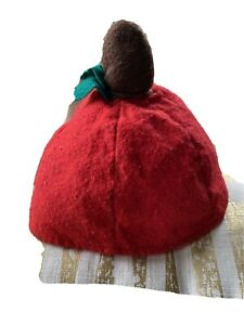 18-24M Red Apple Or Tomato Hat Beanie Dr. Seuss Costume
