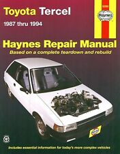 Service Repair Manuals For Toyota Tercel For Sale Ebay