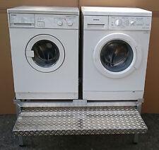 Premium Waschmaschinen Untergestell Mara 2 Alu mit 1 Auszug 200 Kg Traglast