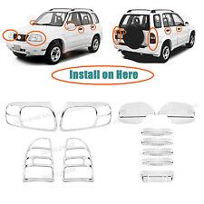 Accessories Chrome Molding Covers Trims For 1999-2003 Suzuki Grand Vitara SUV
