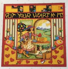 Mary Engelbreit Artwork-Put Your Heart-Handmade Magnet