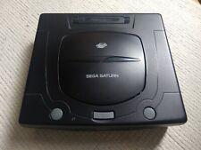 SEGA SATURN PAL consola (Phoebe) + Cable RGB + Fuente de alimentación del Reino Unido + controlador de apagado.