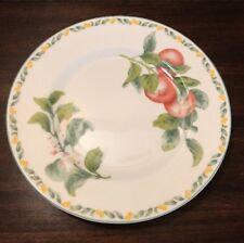 "Coventry Fine Porcelain Country Fruit 10.5"" Dinner Plate"