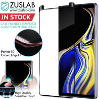 Galaxy Note 9 8 Case Friendly Zuslab tempered Glass Screen Protector for Samsung