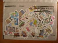 Lot de 250 timbres AA que grands formats récents, nombreuses séries complètes
