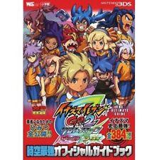 Inazuma Eleven GO 2 Chrono Stone Jikuu Saikyou official guide book / 3DS