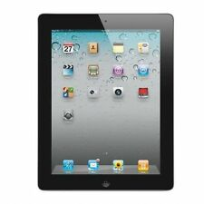 """Apple iPad 2 9.7"""" Tablet 16GB Black Dual Camera Bluetooth"""