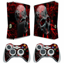 Skull 251 Vinyl Decal Cover Skin Sticker for Xbox360 slim and 2 controller skins