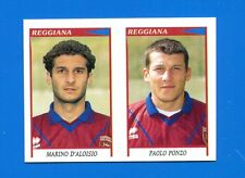 CALCIATORI PANINI 1998-99 Figurina-Sticker n. 569 -D'ALOISIO-PONZO REGGIANA-New