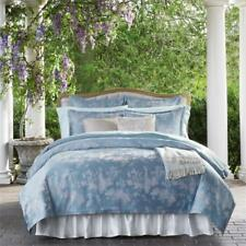 Wonderful NIP SFERRA 3416 Lumia Bluebell Full/Queen Quilted Coverlet