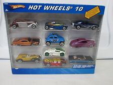 Hot Wheels 10 Car Pack w/Blue VW Baja Bug