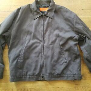 Red Kap Men's Brown Pocket mechanics Jacket sz X-Large XL Preowned