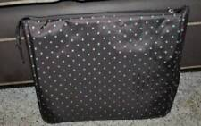 NWT-UrbanGear Brown & Blue Polka Dot Soft Travel Bag-Notebook, Nook, Etc.