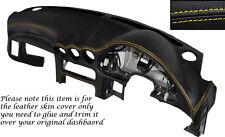 Amarillo Stitch Dash Dashboard Leather Piel tapa se ajusta Mitsubishi Gto 3000gt 92-99