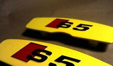 Audi S5 Brake Caliper Decals / Stickers / Graphics **High Quality** - Pick Color