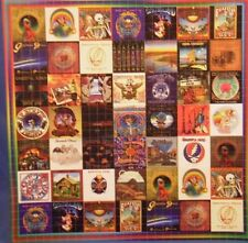 Jerry Garcia Grateful Dead Lp Record Cover Blotter Art Futhur Phil bob Weir the