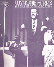 "LP 12"" 30cms: Wynonie Harris: mr blues is coming in town. route 66"