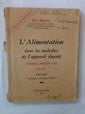 L'ALIMENTATION MALADIES APPAREIL DIGESTIF ESTOMAC FOIE INTESTIN DEMAISON