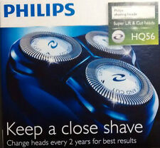 PHILIPS HQ56 TRIPLE PACK taglio ROTATIVO RASOIO teste