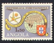 Portuguese Angola 1958 EXPO/Exhibition/Maps/Brussels/Animation 1v (n39288)