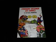 Lee / Buscema Comment dessiner les comics : La méthode Marvel Akiléos DL 04/2010
