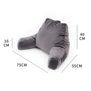 Backrest Reading Pillow Lumbar Nap Pillow Support Arm Seat Cushion Lounger multi
