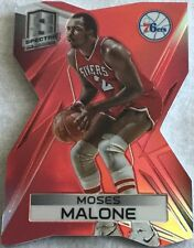 Moses Malone 19/25 2014-15 Panini Spectra Red Prizm Refractor Die Cut #18 76ERS