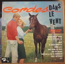 RAYMOND LEFEVRE CORDES DANS LE VENT RARE 25cm FRENCH LP BARCLAY 1963