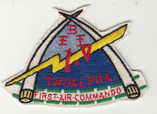 Wartime 1st Air Commando Patch, Aviation Insignia