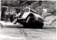 Citroen Dyane 2CV Rallycross Original 1978 Italian Photograph On Two Wheels